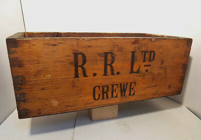 ANTIQUE WWII 1938 original LARGE Rolls-Royce factory toolbox EXCELLENT CONDITION
