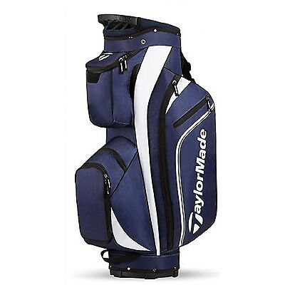 TaylorMade Pro Cart Bag 4.0 2017 Model Navy/White