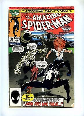 Amazing Spider-Man 283 284 285 286 287 - Marvel 1986/87 - FN- to VFN- - 5 Comics