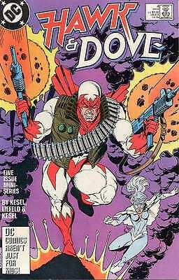 Hawk and Dove (1988 series) #4 in Near Mint condition. FREE bag/board