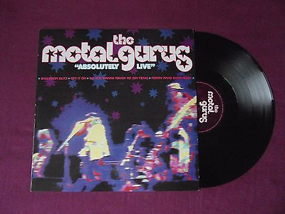 "The Metal Gurus (The Mission) - ""Absolutely Live"" - 4 track vinyl 12"" single"
