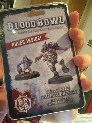 Bloodbowl - Grak and Crumbleberry - Warhammer World Exclusive *SOLD OUT*