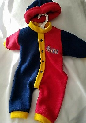 Zapf baby doll Chou Chou large pajamas clothes clothing replacement Red/blue