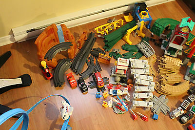 Geo trax Flash Mcqueen set only. Complete and working