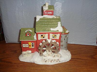 Department 56 - Snow Village - J. Young's Granary #51497