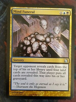 Mtg Mind funeral  good condition
