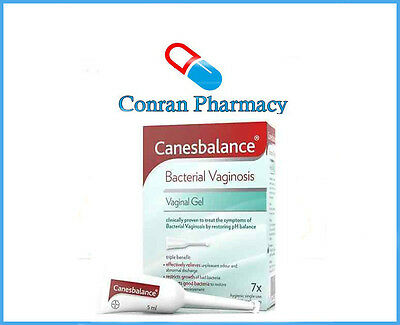 Canesbalance Bacterial Vaginosis Vaginal Gel - 7 Day Treatment - 7 X5ml Canesten
