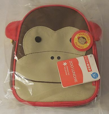 Skip Hop Zoo Lunchie Insulated Lunch Bag, Marshall Monkey - Ships Fast!!