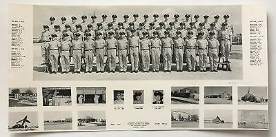 August 1960 Class Photo -- SQUADRON 3710 -- LACKLAND AIR FORCE BASE TEXAS