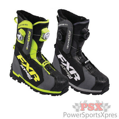 FXR Elevation Lite Boa Focus Snowmobile Boots  ~ New 2016 CLOSEOUT