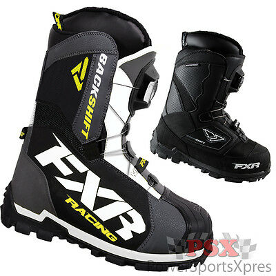 FXR Backshift Boa Snowmobile Boots  ~ New 2016