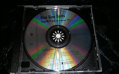 GOO GOO DOLLS Stay With you 1TRK Rare 2006 USA PROMO Radio DJ CD Single