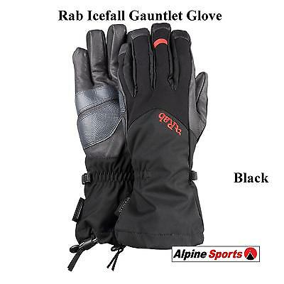 Rab Icefall Gauntlet Waterproof Extreme Mountain Glove for wet and cold conditio