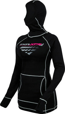FXR Womens Mission 100% Merino Top Pullover With Balaclava