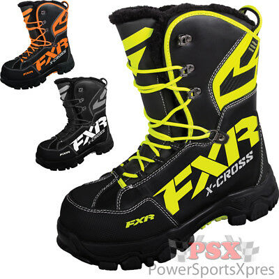 FXR X Cross Snowmobile Boots  ~ New 2016 CLOSEOUT