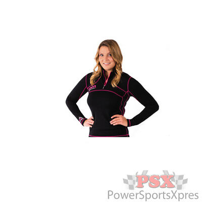 FXR Womens Expedition 48% Merino 1/4 Pullover Top Layer CLOSEOUT