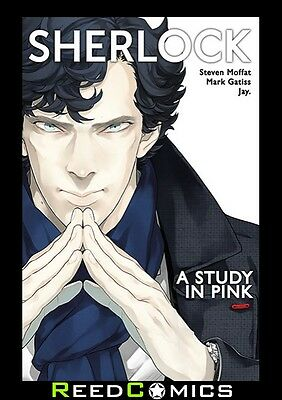 SHERLOCK A STUDY IN PINK GRAPHIC NOVEL New Paperback Collects Issues #1-6