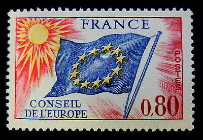 timbre France  service conseil Europe n° 47