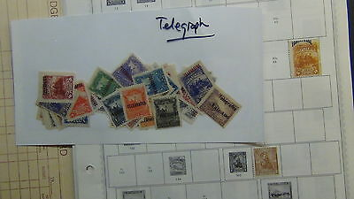 Nicaragua stamp collection/ accumulation on Minkus pages / stock, etc
