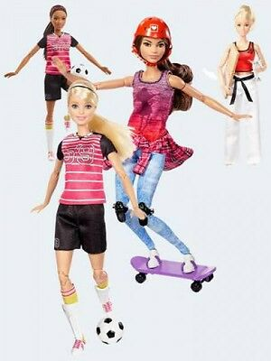 Mattel Barbie Made to Move Sportlerin 1 Stück DVF68