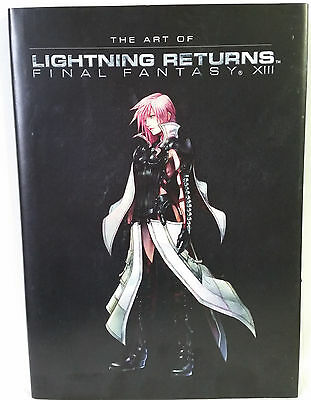 The Art of Lightning Returns Final Fantasy XIII Hardcover Tetsuya Nomura EUC
