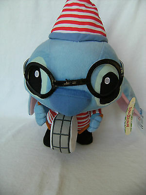 Disney Stitch Soft Toy - Lilo And Stitch Singing And Dancing Hong Kong Disney