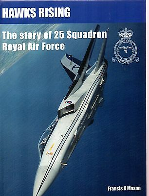 Air Britain Publication, Hawks Rising - The Story Of 25 Squadron Royal Air Force