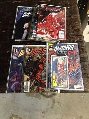 complete run  daredevil 2nd series #1-119 and 500-512