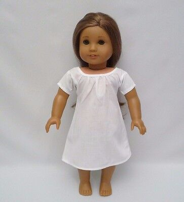 American Girl Retired Felicity White Nightgown