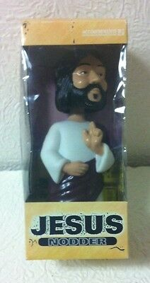 "Jesus Christ Resin Noddler 7 1/2""  Figure Brand New In Box"