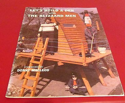 Let's Build a Den with The Blizzard Men Woodwork Treehouse Construction 1983 PB
