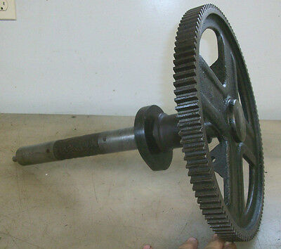 CAM GEAR and SHAFT 6HP H OR T FAIRBANKS MORSE Old Gas Hit and Miss Engine