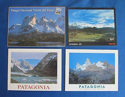 Four Postcards From Argentina  Patagonia