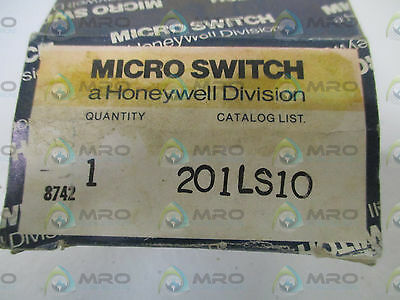 Microswitch 201Ls10 Limit Switch (Only) *new In Box*