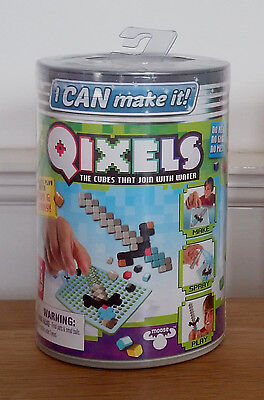 "Qixels - i CAN make it - ""Minecraft in realem 2D"" - Kreative Pixelwerkstatt"