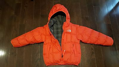 Genuine The North Face® Boy's Reversible Down-Filled Winter Jacket sz. 5 (xxs)