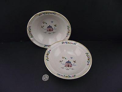 "2 7"" Rimmed Soup Or Cereal Bowls   International China Heartland"