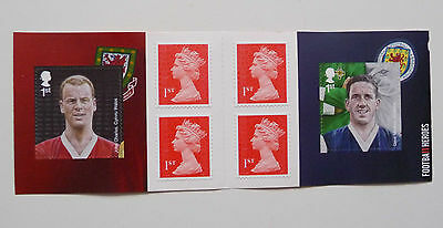 Football Heroes 6x1st Class Stamp Booklet 2013