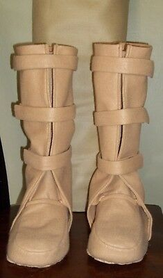 """Bespin Boots"" costume shoe covers. NEW FOOT design NO PAINT, NOT DIRTIED"