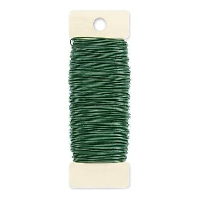 """Paddle Wire 22 Gauge 110'-Green, Set Of 20"""