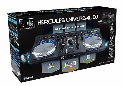 Hercules Universal Advanced Bluetooth DJ Controller with Software