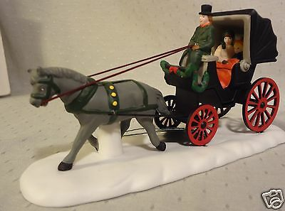 Dept 56 Heritage Christmas In The City  Central Park Carriage 59790 MIB