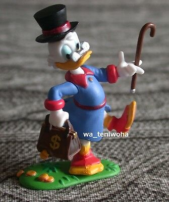 """New """"Scrooge McDuck"""" The Duck family Tiny Disney Figure Choco Egg Gift Miniature"""
