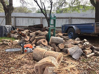 Loggers mate saw bench  firewood saw horse , wood splitter