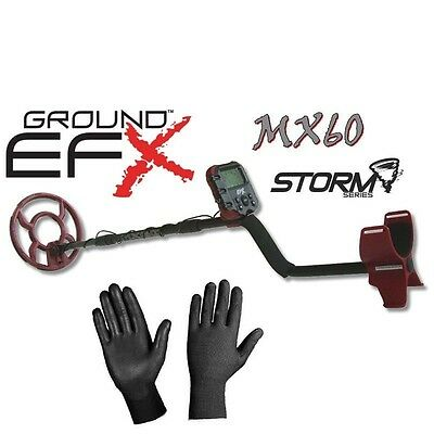 Metal Detector Ground Efx Storm Mx 60 Suitable A All Finders New 2017