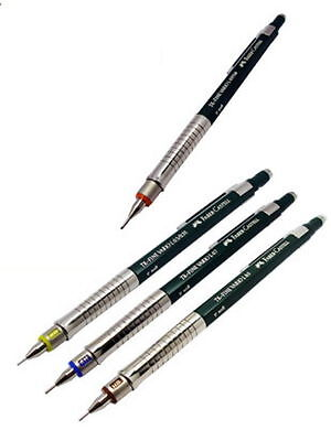 Faber Castell TK Fine Vario L Art Graphic Drafting Mechanical Pencil 0.3 - 1.0mm
