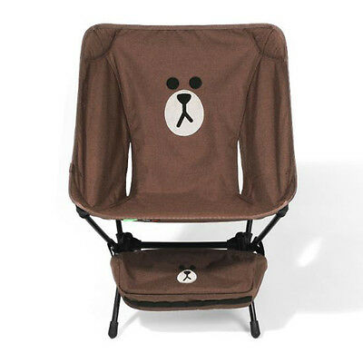 Helinox 2017 NEW Line Friends Camp Chair Brown Limited Edition Unique Design