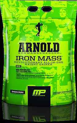 Arnold Schwarzenegger Series - IRON MASS  CHOCOLATE MALT - 10lbs 4.54kg CHEAPEST