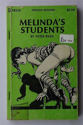 Melinda's Students Peter Ryan 1960s Vintage US 1st Book Erotica Fireside Readers
