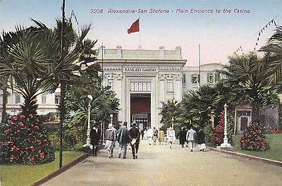 Cpa Alexandria San Stefano Main Entrance To The Casino